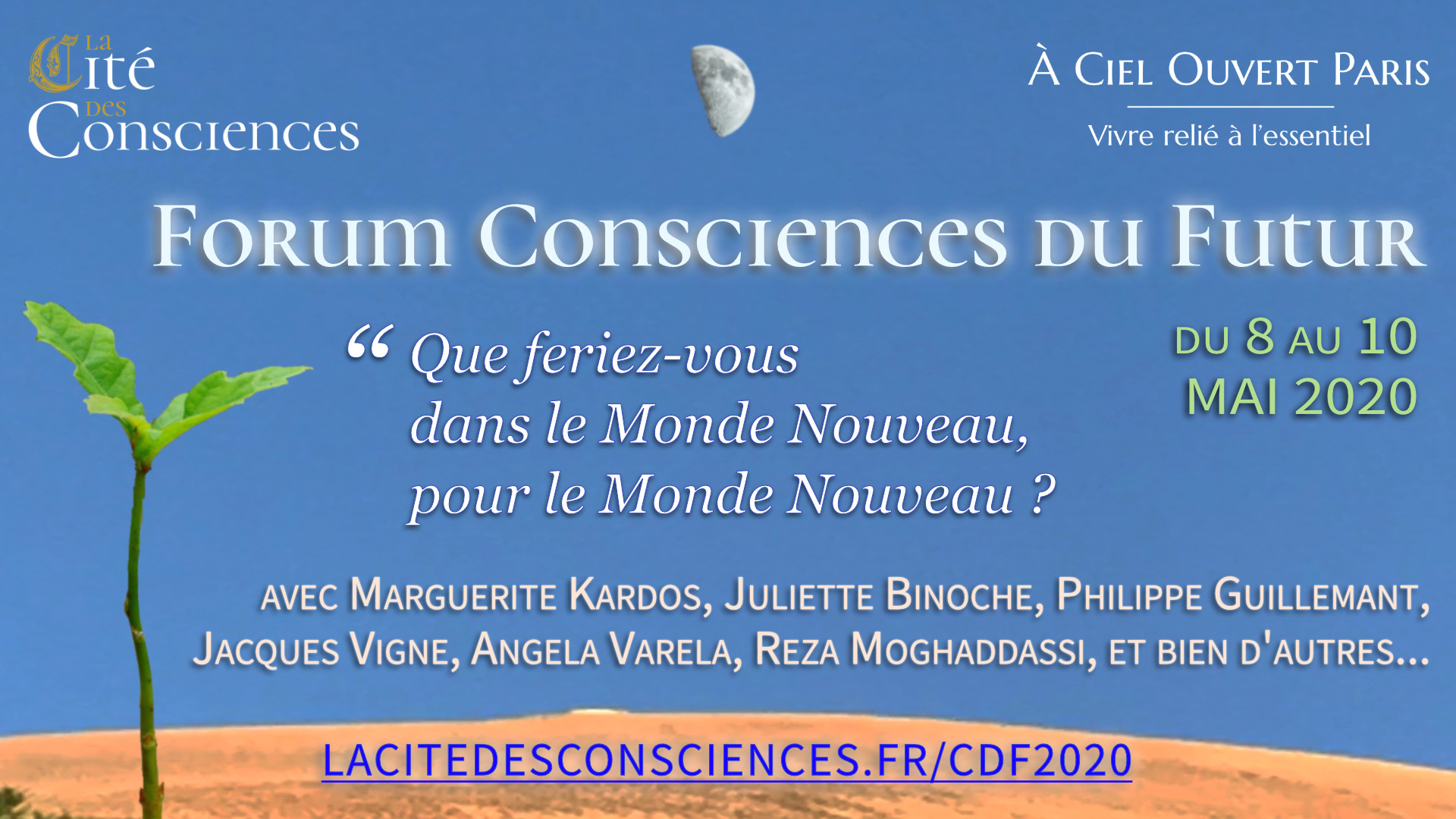 "Forum ""Consciences du future"" 2020"